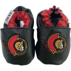 NHL | Infant's Booties | Senators | Red & Black